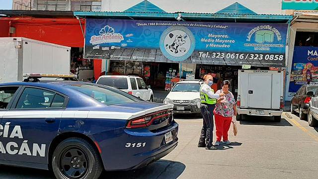 En Morelia, realizan en mercados labores preventivas contra Covid-19
