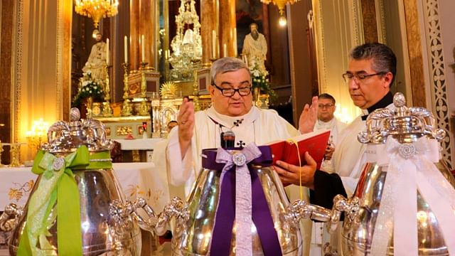Celebraciones religiosas se transmitirán en vivo desde la Catedral de Morelia