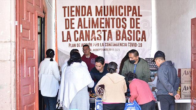 Ayuntamiento de Salvador Escalante abre Tienda Municipal de Alimentos de la Canasta Básica