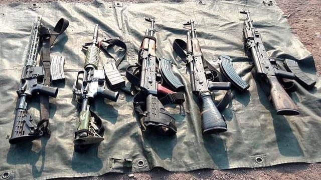 En marzo, se aseguró en Michoacán 50 armas y más de mil cartuchos