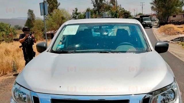 Un policía lesionado y dos civiles detenidos, saldo de balacera en Michoacán