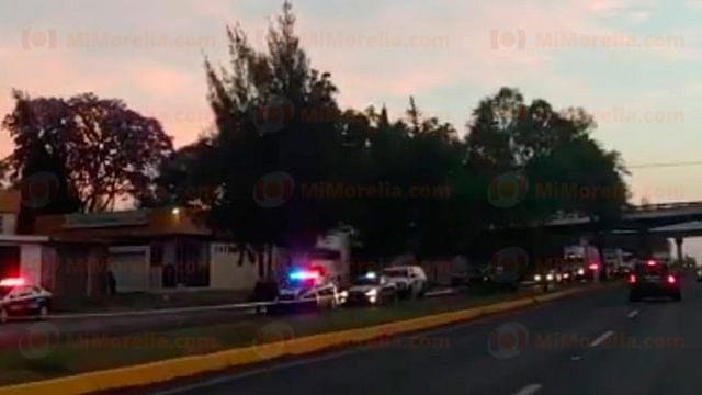 Muere atropellada por varios autos, a la altura de Tenencia Morelos, en Morelia