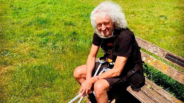 Brian May, de Queen, es hospitalizado por infarto