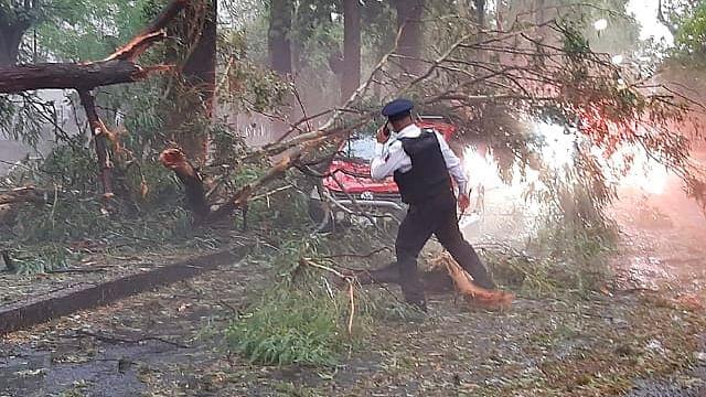 Se registran inundaciones en al menos seis colonias de Morelia