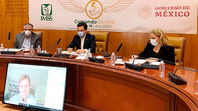 IMSS y Ayuntamiento de Madrid comparten estrategias de reapertura de actividades