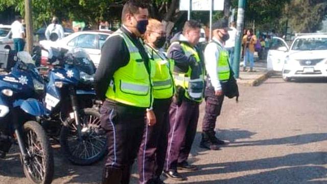 En Morelia, vigilanmanifestación en salida a Pátzcuaro