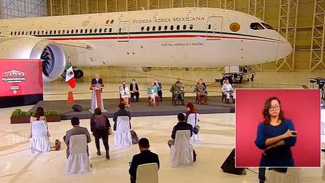 Avión presidencial, muestra de cómo se mal gobernaba: AMLO
