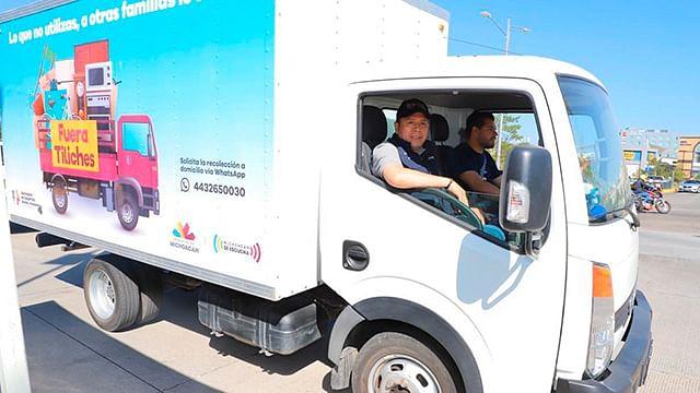"""Reanuda Sedesoh en Morelia recolección a domicilio de """"Fuera Tiliches"""""""