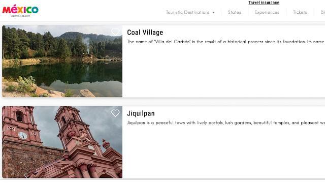 (Captura de pantalla: visitmexico.com)