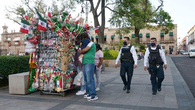Durante festejos patrios en Morelia, habrá operativos para evitar contagios de Covid-19