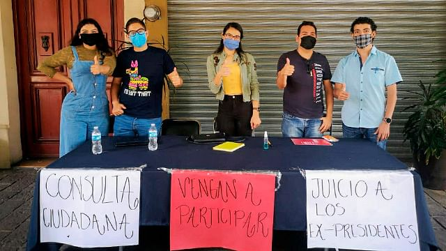 Michoacán aporta más de 80 mil firmas para enjuiciar a expresidentes: Bedolla