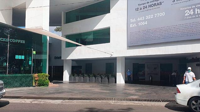 Reporte de explosivo en hospital de Morelia moviliza a policías