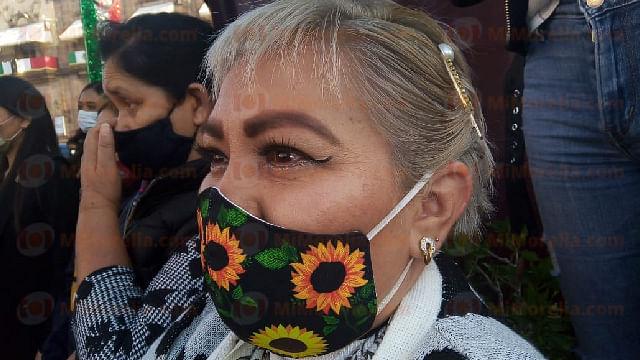 """""""Tenemos secuelas muy fuertes por las esquirlas"""": Lupita Hernández"""
