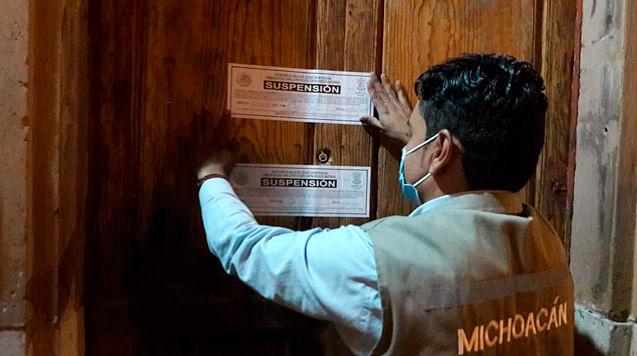 Suspendidos en Michoacán, 180 negocios por no cumplir protocolos: Coepris