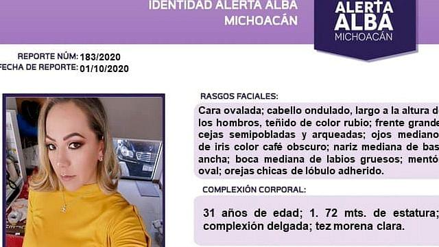 Intensifican búsqueda de Xitlali Elizabeth Ballesteros, en Morelia