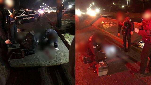 Motociclista muere tras derrapar en el periférico norte de Morelia