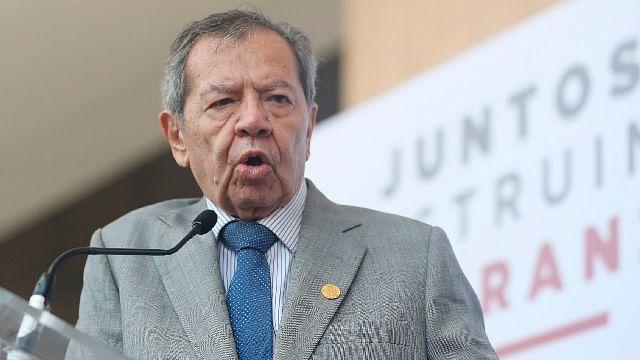 Muñoz Ledo confía en ganar dirigencia de Morena