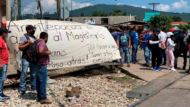 Arantepacua evitaría elecciones si no se soluciona conflicto magisterial