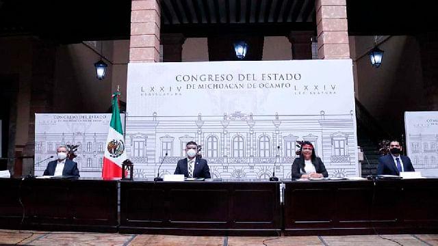 Incidentes en sesiones virtuales en Congreso de Michoacán motivan reglamento