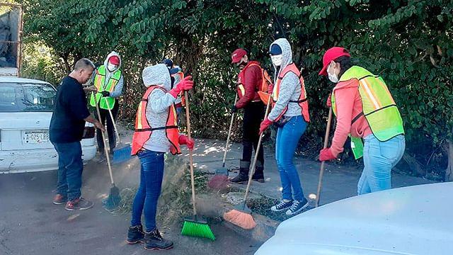 En Morelia, realizan jornada de limpieza en vialidad del Río Grande