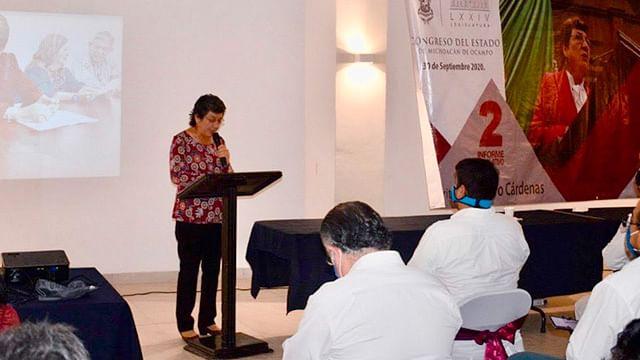 Balance positivo en mi segundo año como legisladora: Tere López