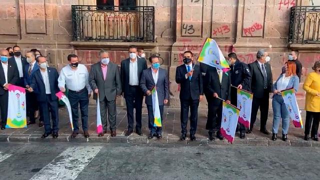 Salen de Morelia rumbo a Tabasco víveres para damnificados