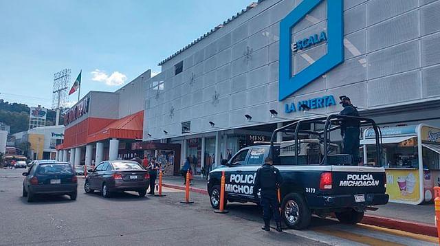Inicia Policía Michoacán vigilancia por Buen Fin 2020