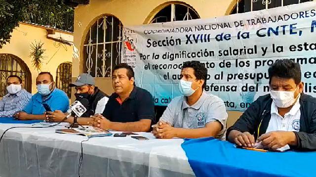 Integrantes de la CNTE presentaron 65 denuncias por lesiones y daños