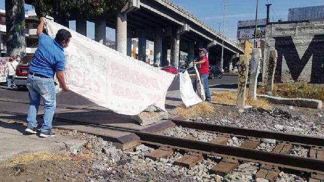 Poder de Base reactiva bloqueo férreo en Morelia; no hay acuerdo