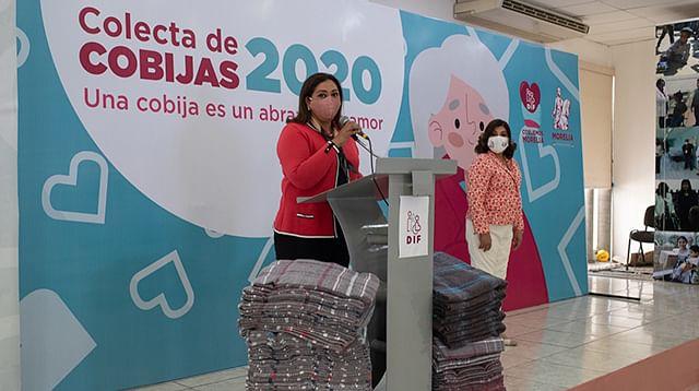 Convoca DIF Morelia a donar cobijas para abrigar a familias vulnerables