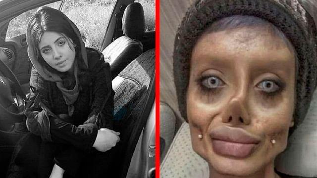 "Irán condena a Sahar Tabar, la Angelina Jolie ""zombie"" a 10 años de cárcel"