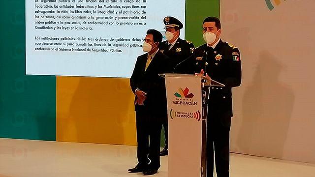 Michoacán: 85 municipios, con menos de la mitad de policías necesarios