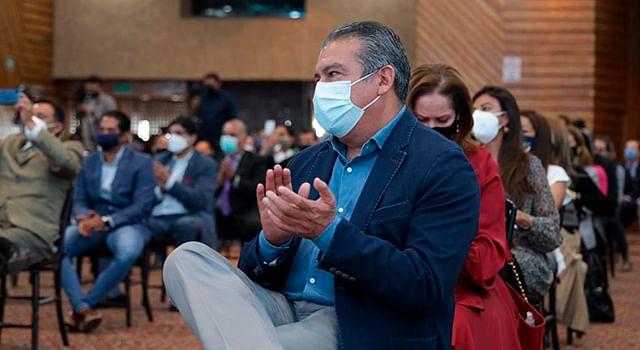 Raúl Morón acude al lanzamiento de la plataforma Mi Negocio Digital
