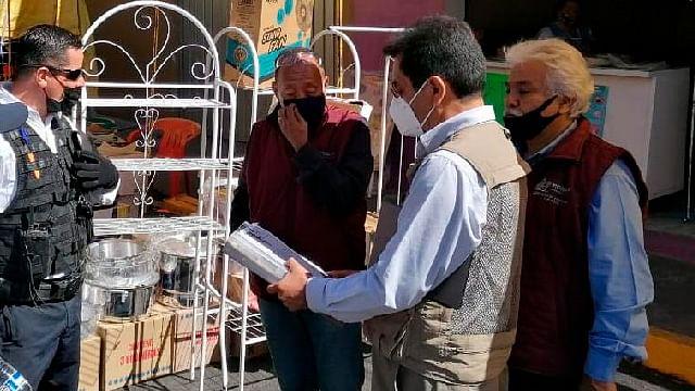 Suman 335 decomisos a comerciantes ambulantes en el centro de Morelia