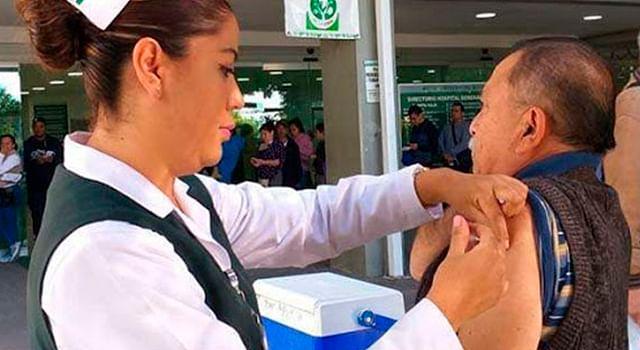 IMSS llama a vacunarse contra influenza para evitar enfermedades respiratorias
