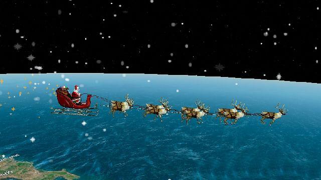 Sigue en vivo la entrega de regalos de Santa Claus alrededor del mundo
