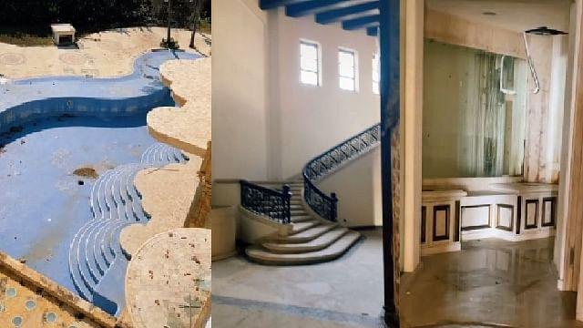 Abandonada y en ruinas: así está la mansión de Luis Miguel en Acapulco