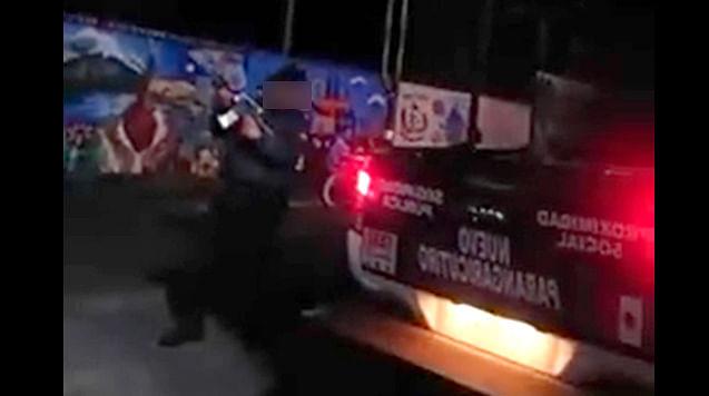 Michoacán: Policías disparan al aire; condena CEDH conducta [Video]