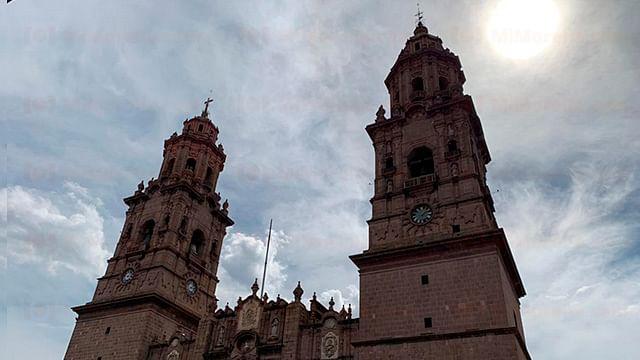 Pronostican cielo nublado en Morelia; la máxima alcanzará los 27°C
