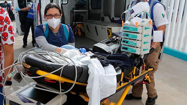 Nuevo Hospital Infantil de Morelia inicia atención; trasladan a pacientes