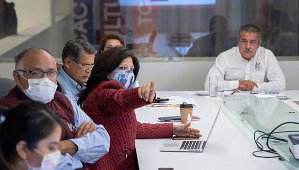 Raúl Morón reconoce labor de Gabinete económico de Morelia