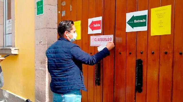 Clausuran cinco negocios por operar en domingo en Morelia