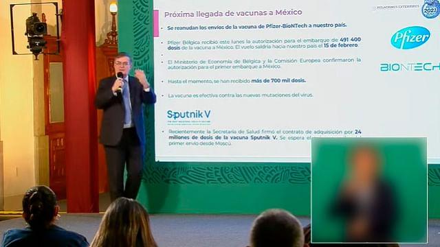 Pfizer reiniciará entrega de vacuna contra Covid-19 a México