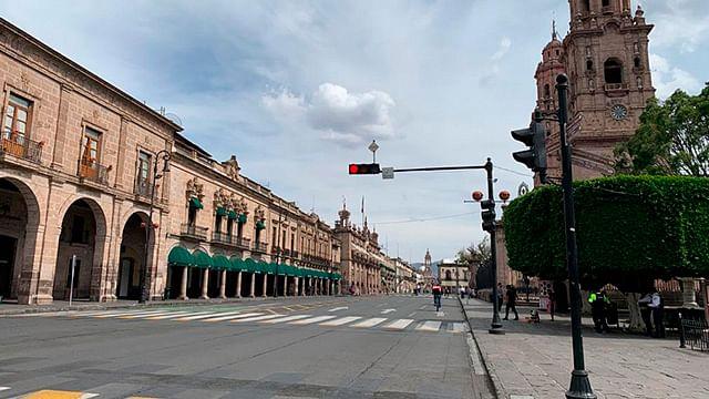 Reabrirán calles del centro de Morelia; ajustan medidas sanitarias