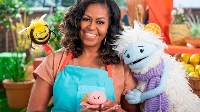 Michelle Obama estrena serie de cocina en Netflix