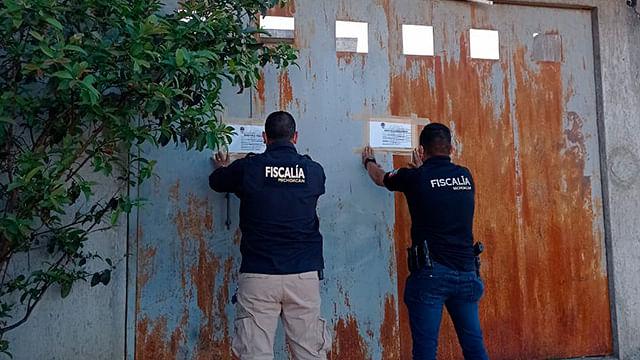 Encuentran muebles robados en un domicilio de Morelia