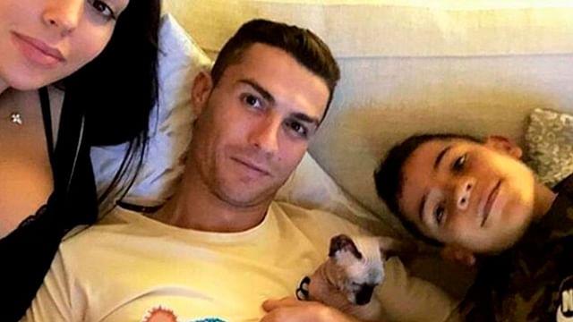 Gatito de Cristiano Ronaldo es atropellado y lo llevan en jet privado al veterinario