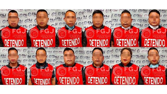 Vinculan a proceso a los 12 policías detenidos por masacre de Tamaulipas