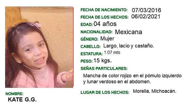 Madre de niña raptada en Morelia cuenta su versión de los hechos