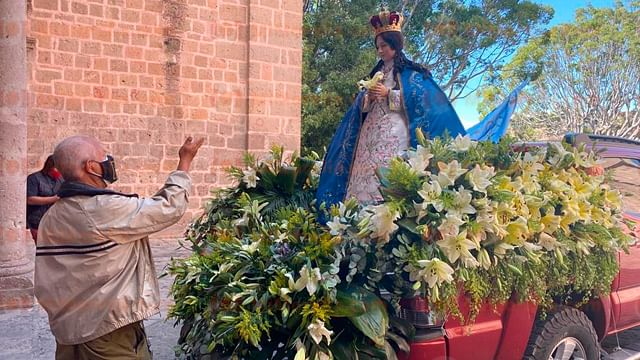 Virgen de la Salud recorrerá Morelia para bendecir enfermos de Covid-19